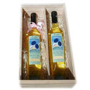 Olive Oil Two Bottle Gift Box