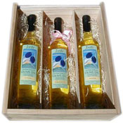 Olive Oil Three Bottle Gift Box